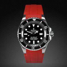 Rolex Deepsea   Rubber B Strap