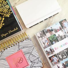 These are the planners/notebooks I'll be using for 2016! Working on editing a video explaining my planner set up for this year #emmasplanner #panduhsquad  Don't forget to use the code ONEYEAR to celebrate PaperPanduh.coms 1st BIRTHDAY! Sale ends tomorrow