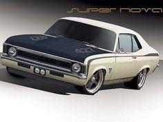My favorite, Chevy Nova!