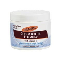 Palmer s Cocoa Butter Formula Original Solid Formula Theobroma Cacao, Cocoa Butter Cream, Coco Nucifera, Benzoic Acid, Thing 1, Healthy Cat Treats, Fragrance Parfum, Body Treatments, Shopping