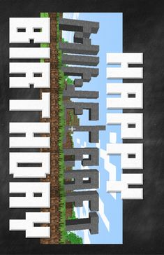 Minecraft Party Printables