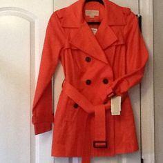 Michael Kors Rain Coat Never worn original Michael Kors rain coat. Perfect for the upcoming April showers!!! Michael Kors Jackets & Coats Pea Coats