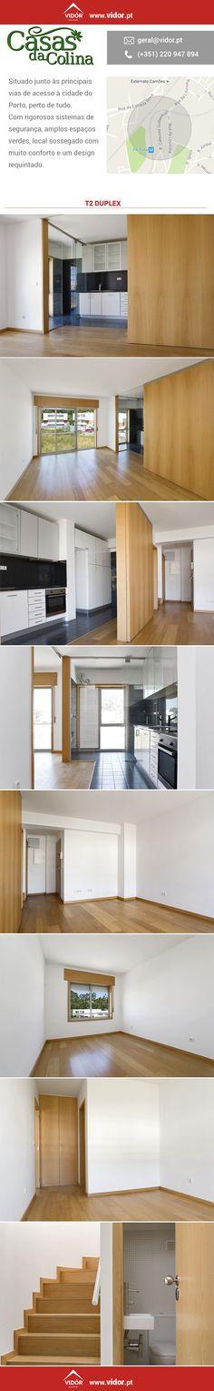 Apartamentos T2 Duplex e T3 Duplex nos arredores do Porto para habitar já! Com espaços verdes, zonas sossegadas e bons acessos a 5 minutos do Porto. #vidor #comprarcasa #porto #pertodetudo