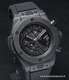BaselWorld 2014 : Chronographe Hublot Big Bang Unico All Black