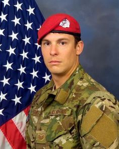 Two special tactics Airmen, who were deployed in support of Operation Freedom's Sentinel, were killed near Camp Antonik, Afghanistan, Aug. Military Ranks, Remember The Fallen, Staff Sergeant, Afghanistan War, Unsung Hero, Fallen Heroes, Real Hero, Special Forces, Armed Forces