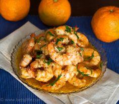Cuban Mojo Shrimp
