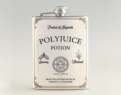 Polyjuice Potion - Harry Potter Liquor Hip Flask, Stainless Steel Flask 6 oz / 8 oz FK0599