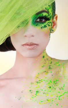 green make up art - tyvm for adding me :) my compliments to everyone for making such a nice board! <3