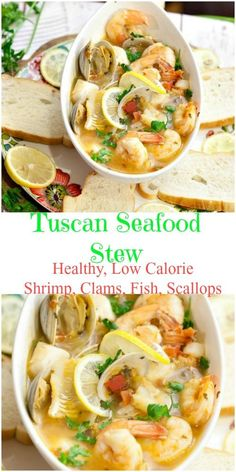 Tuscan Seafood Stew - Food Done LightIncredibly easy to make. Healthy Tuscan Seafood Stew edible aquatic animals, excluding mammals, but including both freshwater and ocean creatures. Seafood Stew, Seafood Dinner, Seafood Soup Recipes, Mussels Seafood, Seafood Boil, Taste Restaurant, Fish Stew, Healthiest Seafood, Seafood Appetizers