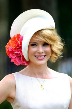 Amanda Holden attends day one of Royal Ascot at Ascot Racecourse on June 19, 2012 in Ascot, England.