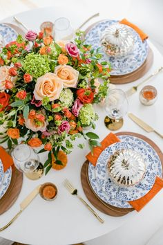 A Very Colorful Thanksgiving Celebration