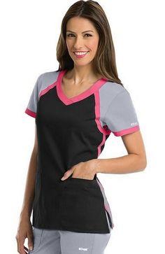 Grey's Anatomy By Barco Filipina Medica Grey's Anatomy, Medical Scrubs, Nurse Scrubs, Cherokee, Scrubs Uniform, Nursing Tips, Scrub Tops, Caregiver, Hairdresser