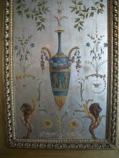 Versailles (detail from Marie Antoinette's boudoir)