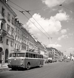 Rising from the Ruins - Pictures of Warsaw, Poland in 1950 ~ vintage everyday Warsaw Pact, Warsaw Poland, Europe Eu, Socialist State, Central And Eastern Europe, Capital City, Popular, Back In The Day, World War Ii