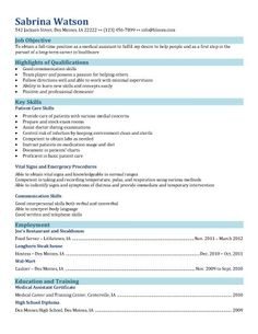 Resume Examples Example Of Medical Assistant Resume Regular
