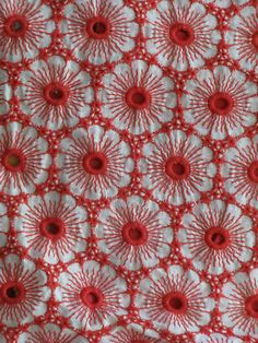 Flowers and eyelets, what's not to like? (via eBay) #pattern #anthropologie