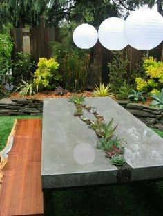 Diy concrete bench inspirational 25 new diy concrete table top of diy concr Concrete Table Top, Concrete Wood, Concrete Countertops, Concrete Backyard, Polished Concrete, Backyard Patio, Wood Table, Concrete Furniture, Concrete Projects