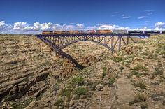 Desert Diorama, Joe Perry, Railroad Photography, Cityscapes, Train Station, Bridges, Trains, Arizona, Landscapes