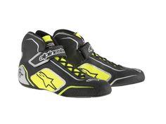 0f1b59be8b490 ALPINESTARS Tech 1-T Driving Shoes - FIA Certified - Black Yellow - Size