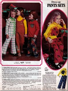 1970's Dress-Up Pants Sets