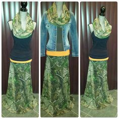 real tree camo skirt