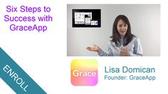 Six Steps to Success with GraceApp Lisa Domican is a social entrepreneur and developer of Grace App which provides non-verbal people with Autism with a simple way to communicate. Here she talks about how to use GraceApp successfully as Steps To Success, Ways To Communicate, Simple Way, Being Used, Training, App, Work Outs, Apps, Excercise
