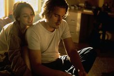 Winona Ryder and Ethan Hawke in Reality Bites