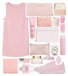 """Untitled #429"" by noonemore ❤ liked on Polyvore featuring MANGO, Michael Kors, Gucci, Pré de Provence, adidas Originals, Victoria's Secret, Kate Spade, Sunnylife, Henri Bendel and Newgate"