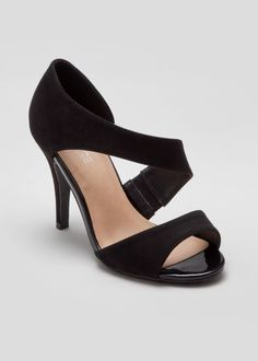 Wide Fit Asymmetric Court Shoes Wide Fit Shoes, Matalan, Court Shoes, Shoe Brands, Kitten Heels, Therapy, Footwear, Fitness, Clothes