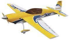 AeroWorks Extra 300 QB ARF Yellow 100cc,106