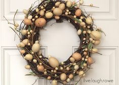 {DIY} Easter Wreath - live. laugh. rowe