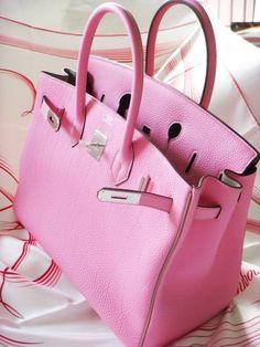 Hermes Birkin Baby Pink Handbag