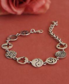 Tattoo Idea, this around wrist or ankle.. Coexist Bracelet