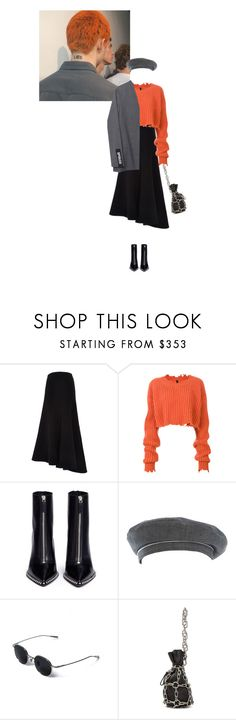 """."" by maisondupapier ❤ liked on Polyvore featuring E L L E R Y, Unravel, Hyein Seo, Alexander Wang and Hermès"