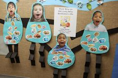 There was an old lady who swallowed a pie-Sequencing activity, fine motor contro. Sequencing Activities, Montessori Activities, Activities For Kids, Nutrition Activities, Preschool Books, Preschool Crafts, Crafts For Kids, Swallowed A Fly, Thanksgiving Preschool