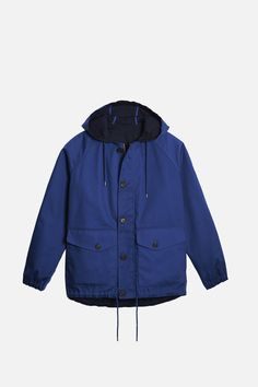 #Lacoste hooded #jacket - perfect for both the #sea and the #city