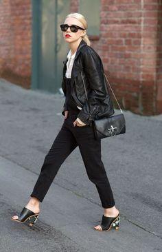 Cute black denim overalls