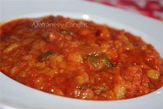 Pisto de verduras | Azafranes y Canelas