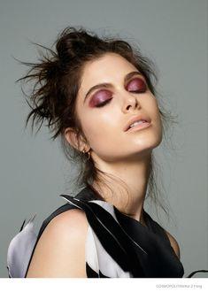 Pat McGrath Creates Colorful Eye Makeup Looks for Cosmopolitan