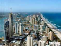 Surfer's Paradise- Gold Coast, Australia  LIVED HERE!