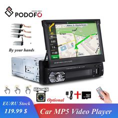 Mp5, Gps Map, Mirror Link, Car Bluetooth, Backup Camera, Gps Navigation, Car Audio, Touch, Electronics