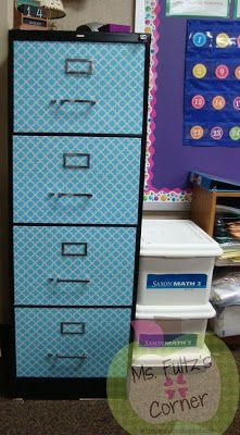 I want to do this with my file cabinets!