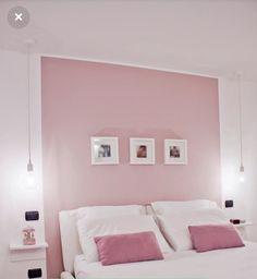 Schlafzimmer – Home Office Design For Women Warm Bedroom Colors, Pink Bedroom Walls, Pink Bedroom Decor, Room Ideas Bedroom, Small Room Bedroom, Pastel Room, Minimalist Room, Fashion Room, Home Office Decor