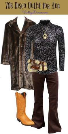 1970s men s disco clothing outfit idea Disco 70s 22eb24ec3915f