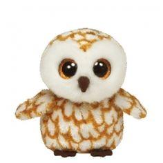 9ced953566b TY Beanie Boos - SWOOPS the Barn Owl - Glitter Eyes - 6 inch Ty Stuffed