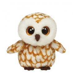 TY Beanie Boos - SWOOPS the Barn Owl - Glitter Eyes - 6 inch