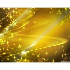 Yellow Xmas Sparkles wallpaper ❤ liked on Polyvore featuring backgrounds
