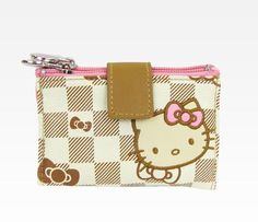 Hello Kitty Jewelry Pouch: Checkered