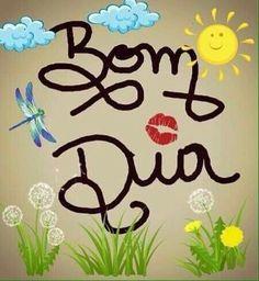 #BomDia  #mensagens Happy Day, Carpe Diem, Cool Words, Good Morning, Top Imagem, Sticker, Kawaii, Glamour, Crystal