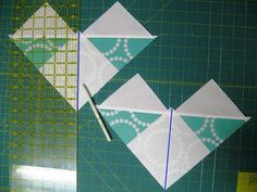 Happy Quilting: No-Waste Flying Geese